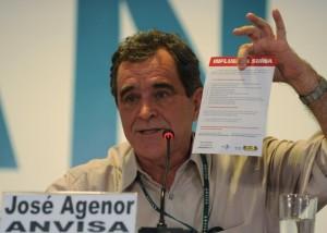 Diretor-geral da Agência Nacional de Vigilância Sanitária (Anvisa), Agenor Álvares. Governo Federal decidiu criar o Gabinete Permanente de Emergência, para tratar dos assuntos referentes ao surto mundial de gripe suína / Crédito da Foto: Valter Campanato - Agência Brasil