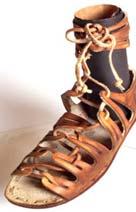 sandália da Roma antiga