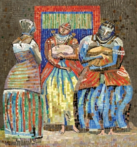 Iaôs, pintura de Caribé à mostra no MAM