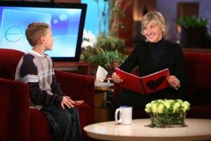 Alec no programa de entrevistas de Ellen DeGeneres