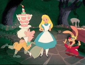 Alice no País das Maravilhas, animação da Disney de 1951, versão infantil mais popular