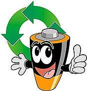 Reciclagem de pilhas