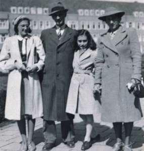 Anne Frank e família