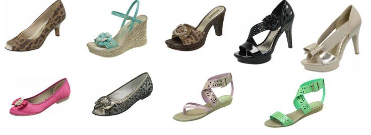 9bba39477 A Azaleia apresenta uma diversidade de modelos na sua coleção Verão 2011.  Destaque especial para o modelo meia pata, novo xodó das fashionistas.