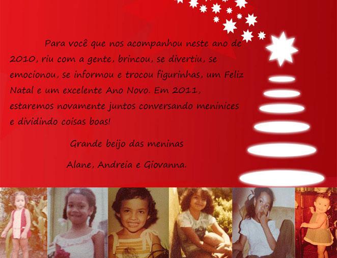 Cartão de Natal - Giovanna Castro