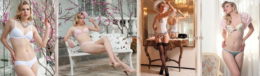 19da6459f A Liebe – marca cearense de underwear de luxo – se inspira no charme do pós  II Guerra para desenvolver sua nova coleção. São conjuntos de calcinha e  sutiã ...