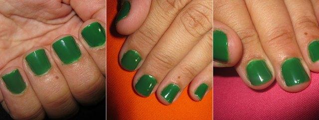 Nas Unhas: Verde Esmeralda (Risqué) | foto: conversa de menina
