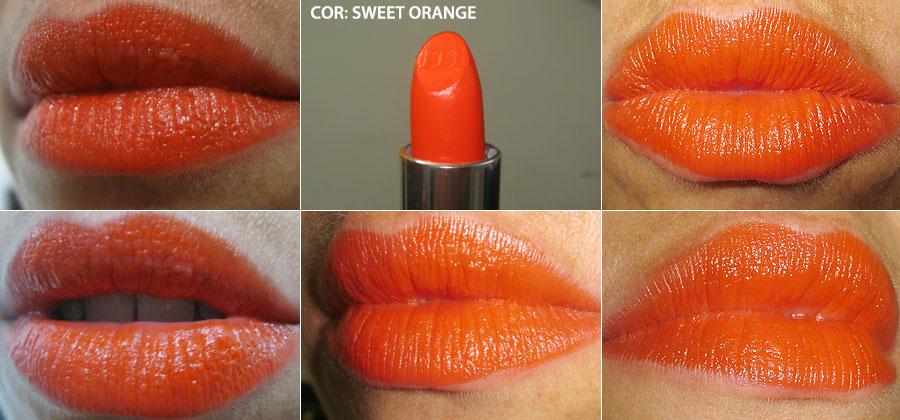 batom sweet orange (mahogany) | foto: conversa de menina
