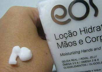 Loção Hidratante Mãos e Corpo da EOS Cosméticos | foto: conversa de menina