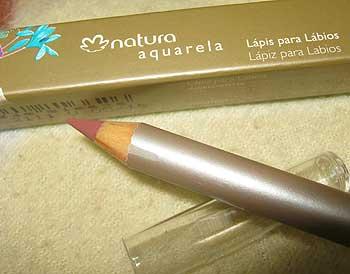 Lápis para Lábios Natura Aquarela - Cor Boca | foto: conversa de menina