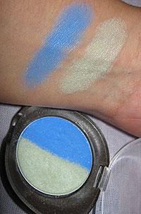 Duo de Sombras Natura Aquarela Cor 2 - Verde e Azul  | foto: conversa de menina