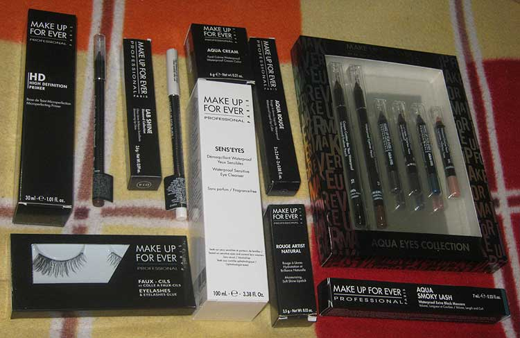 Kit Make Up For Ever