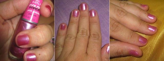 Nas Unhas: Pink Potente (Impala) | foto: conversa de menina