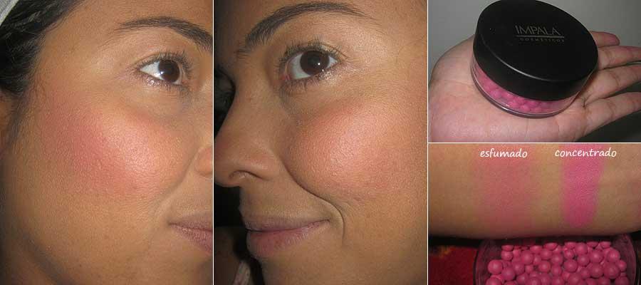 Blush Facial Matte Esferas Impala Cosméticos - Cor Pink | foto: conversa de menina
