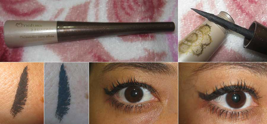Delineador para Olhos Natura Aquarela | foto: conversa de menina