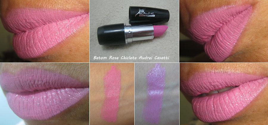 Batom Rosa Chiclete Audrei Casatti | foto: conversa de menina