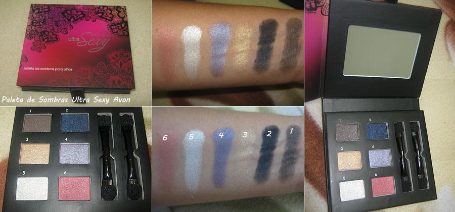 Paleta de Sombras Ultra Sexy Avon | foto: conversa de menina