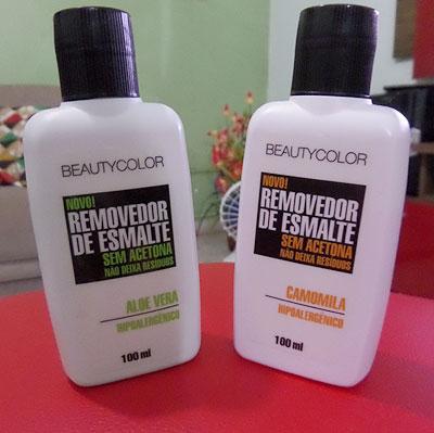 Removedor de esmalte beauty color | foto: conversa de menina