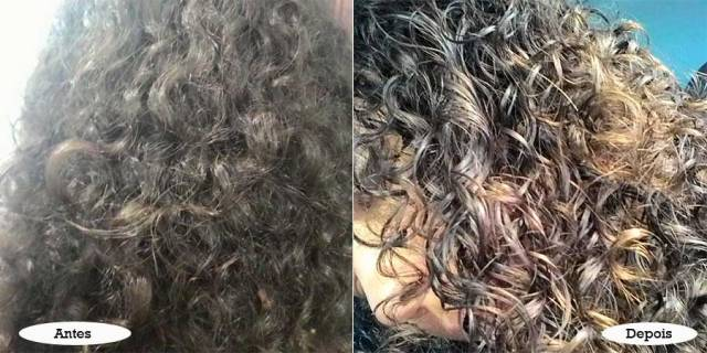 Creme para pentear TRESemmé - para cabelos quimicamente tratados - blindagem platinum   foto: conversa de menina